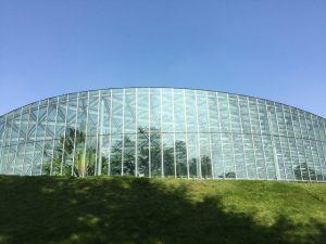 新宿御苑内の温室