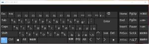 スクリーンキーボード(Fn)