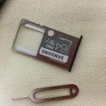 micro SDをセット
