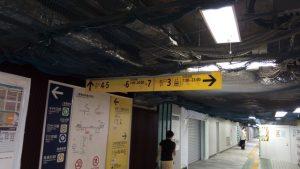 二重橋前駅 出口3