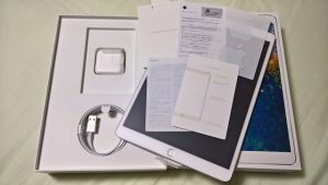 iPad Pro 10.5 同梱品