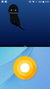 Android Easter Egg マルチタスク 縦
