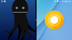 Android Easter Egg マルチタスク 横