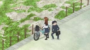 高木さんの自転車