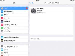 iOS11.3.1(iPad Air 2)