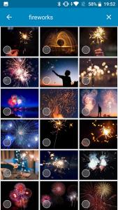 Fireworks = 花火
