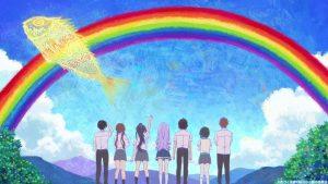 絵の中の虹