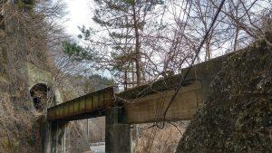 水根トンネルと第二水根橋梁