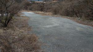 旧水根貨物線 水根駅跡