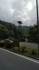 ロープウェイの支柱