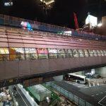 【前夜祭】銀座線の渋谷駅が切り替えになりますよ~(実況中継してた)