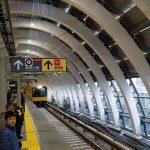 【供用開始!】銀座線の渋谷駅はまだまだ工事中だけどインテリアはきれい!
