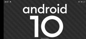 android 10 ヨコ