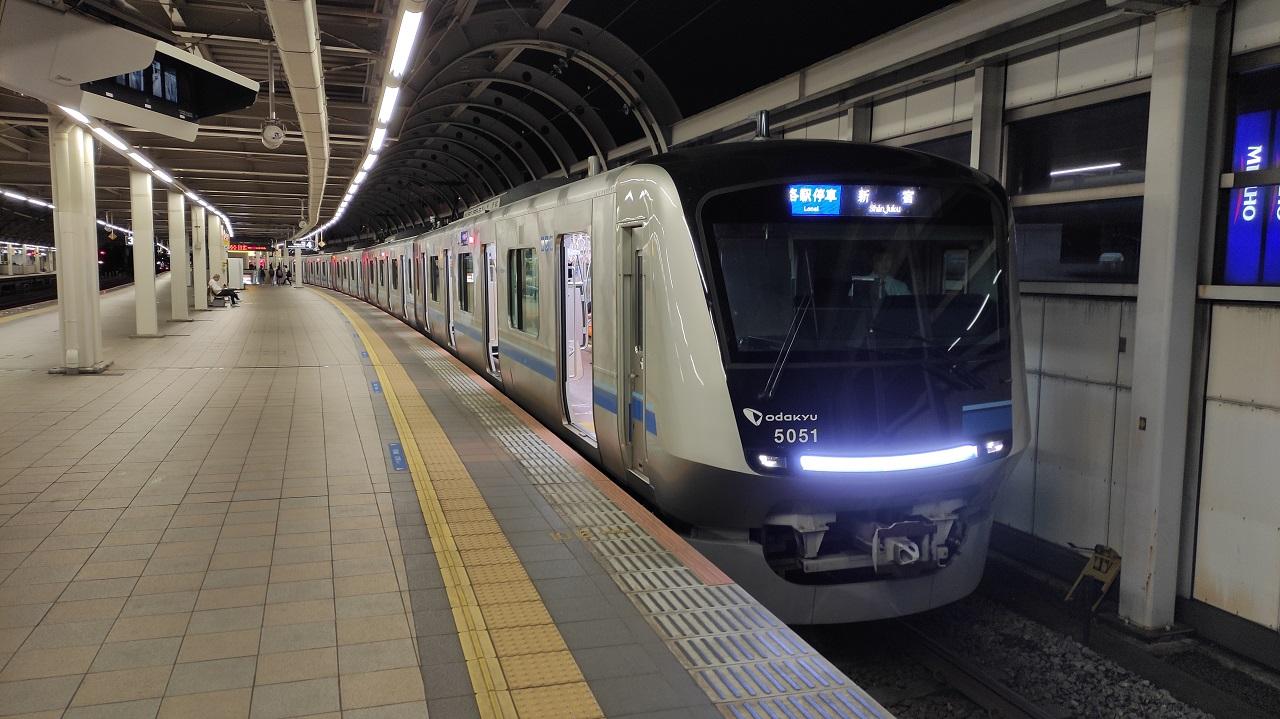 小田急線 5000形